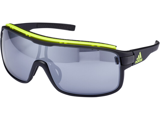 adidas Zonyk Pro Cykelbriller L, coal matt/chrome